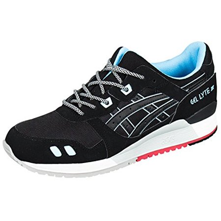 e44ae3197ea9d Asics H637Y-9090: Unisex Gel Lyte III 3 Black/Blue Running Adult Sneaker  (Black/Black/Future Blue, 7 B(M) US Women)
