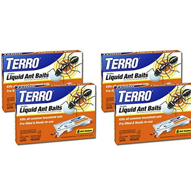 Terro T300 3 Ant Killer Liquid Ant Baits 4 Pack Walmart Com Walmart Com