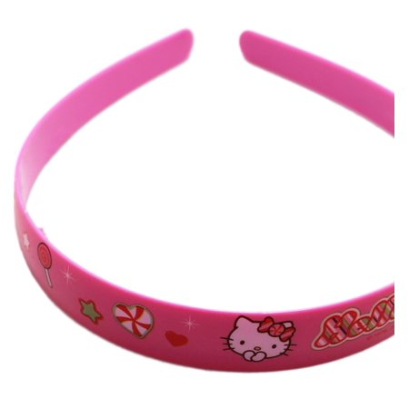 Hello Kitty Candy and Sparkles Pink Colored Girls Headband