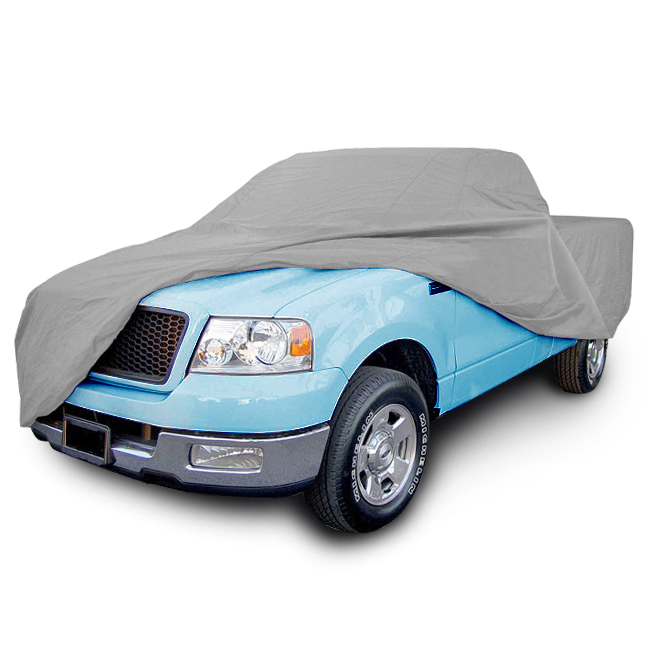 LT Sport® Brand Fit 01-14 chevy silverado ext/crew waterproof car cover 8' ft bed - Free Shipping