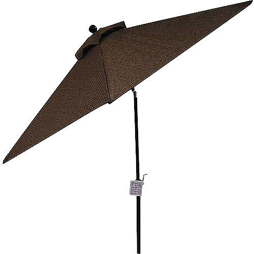 Patio Umbrella 9' Aluminum Patio Market Umbrella Tilt W/ Crank Outdoor  Burgundy - Walmart.com - Patio Umbrella 9' Aluminum Patio Market Umbrella Tilt W/ Crank