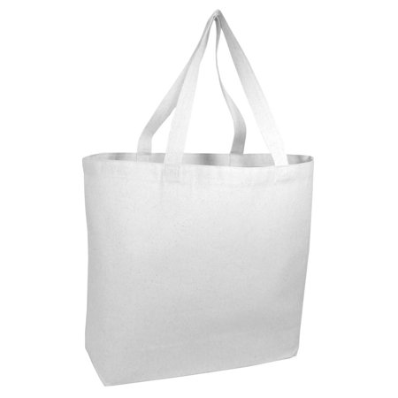 Large Canvas Tote Bag (Heavy Canvas Extra Large Tote)