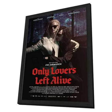 Only Lovers Left Alive (2014) 11x17 Framed Movie Poster (German)