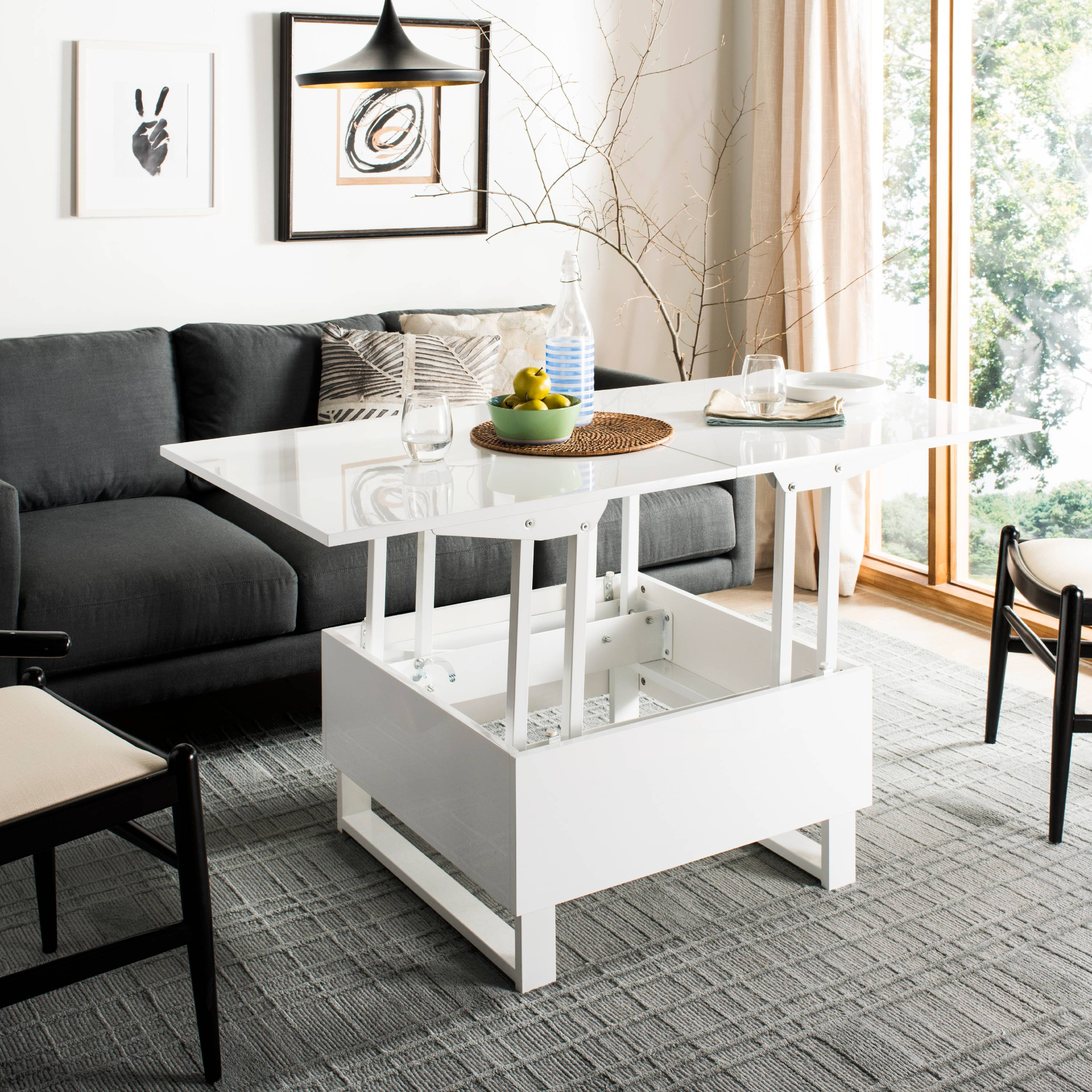 Safavieh Vanna Lift-Top Solid Glam Coffee Table