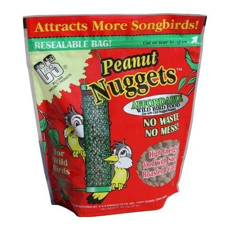 C&S Peanut Suet Nuggets, 27 oz (Wild Bird Suet Basket)