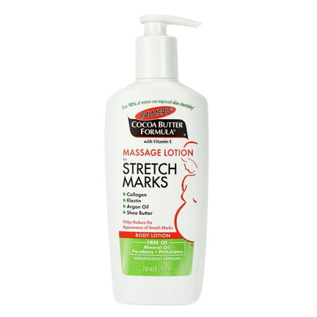 Palmer's Cocoa Butter Formula Massage Lotion For Stretch Marks Lotion, 8.5 fl (Best Skincare For Pregnancy Stretch Marks)