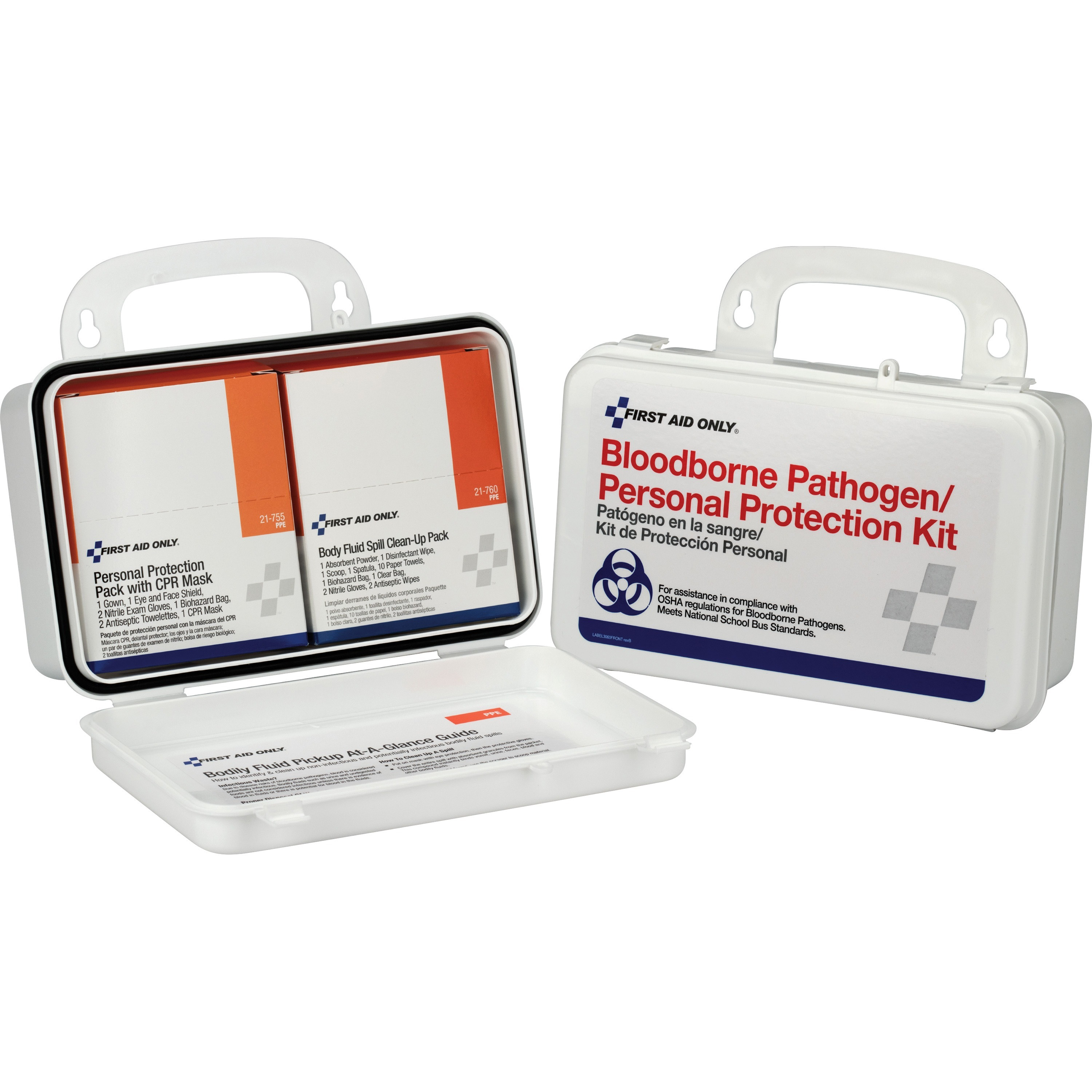 First Aid Only, FAO3065, BBP/Personal Protection Kit, 1 Each, White