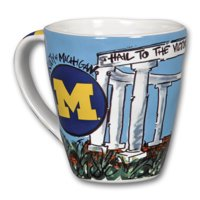 Michigan Wolverines 16oz Artwork Mug
