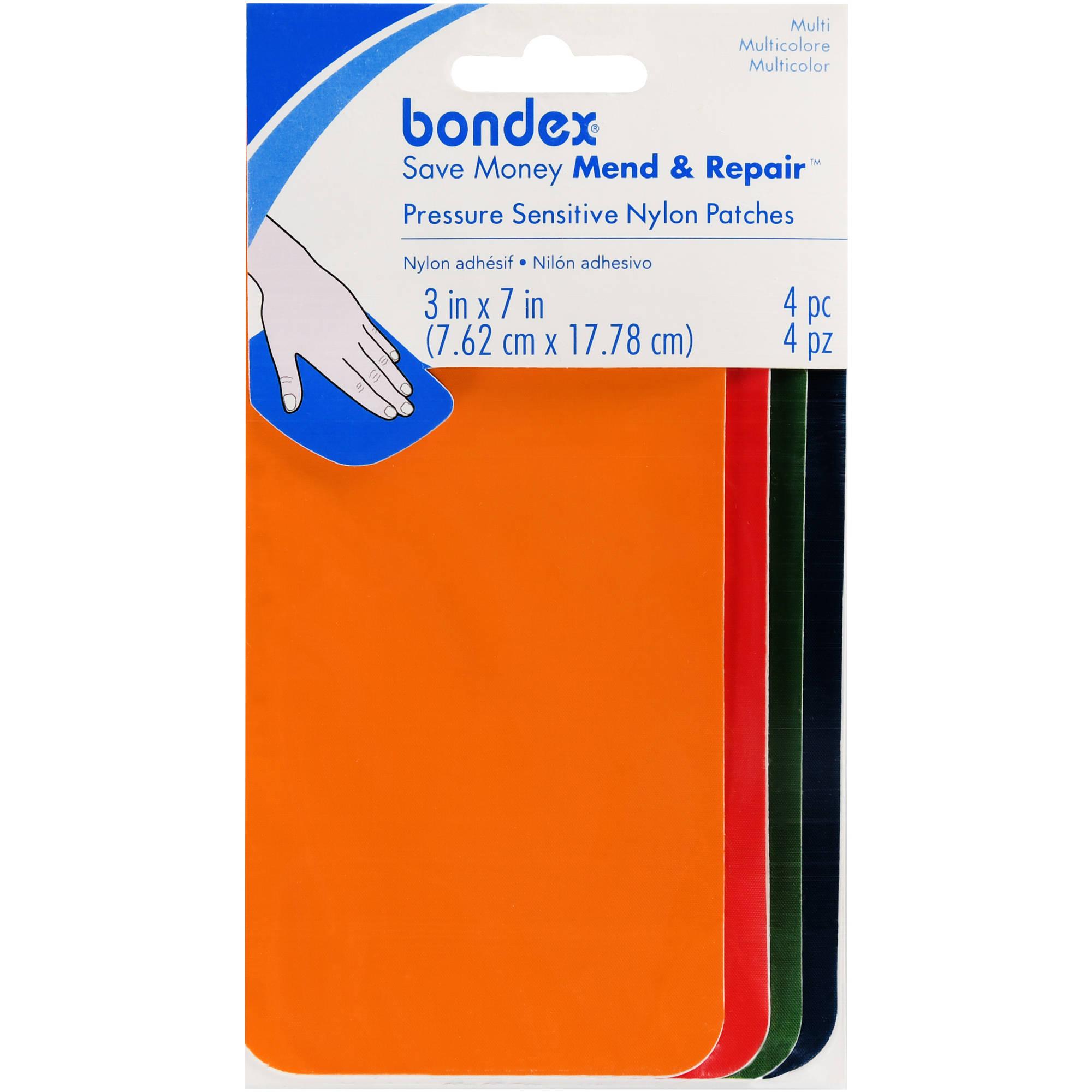 Bondex Pressure Sensitive Nylon Patches, 4 Piece