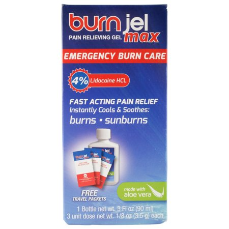 Burn Jel Max, Emergency Burn Care for Home