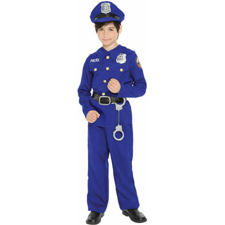 Police Officer Child Halloween - Police Officer Halloween Costumes