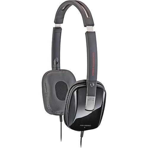JVC HAS650 Black Series Headphones