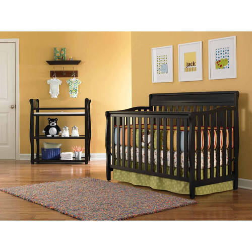 Graco Stanton 4-in-1 Convertible Fixed-Side Classic Crib, Choose Your Finish