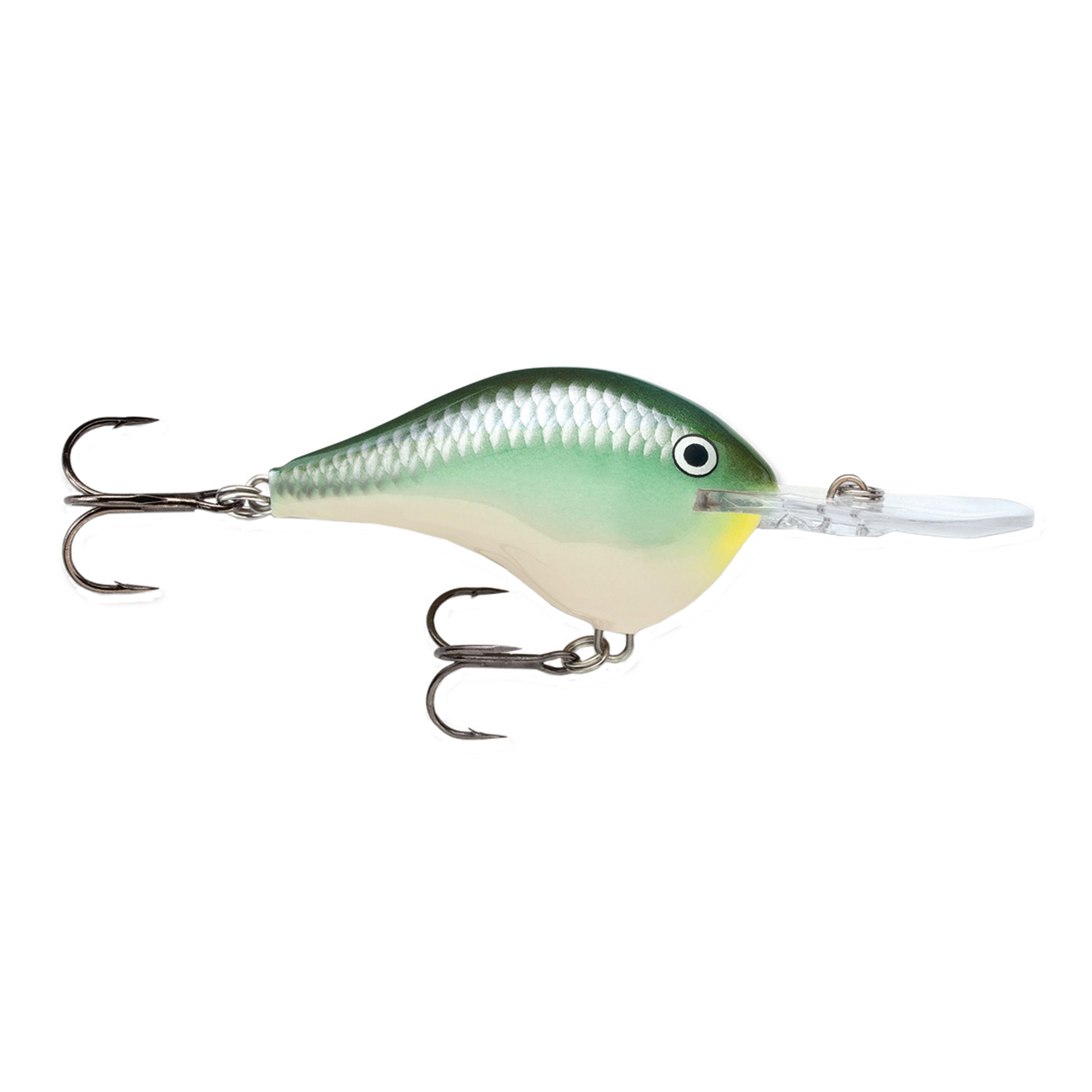 "Rapala Dives-To Series Custom Ink Lure Size 16, 2 3 4"" Length 16' Depth, 2 No 3 Treble Hooks, Blue Back Herring, Per 1 by Rapala"