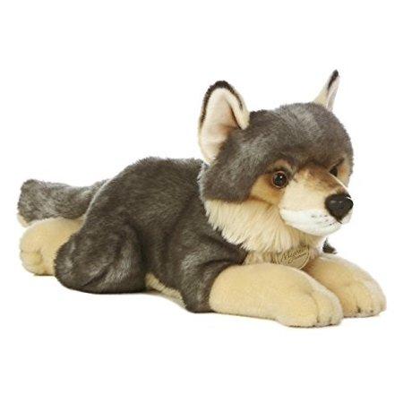 "Aurora World Miyoni Wolf Plush, 16\"""