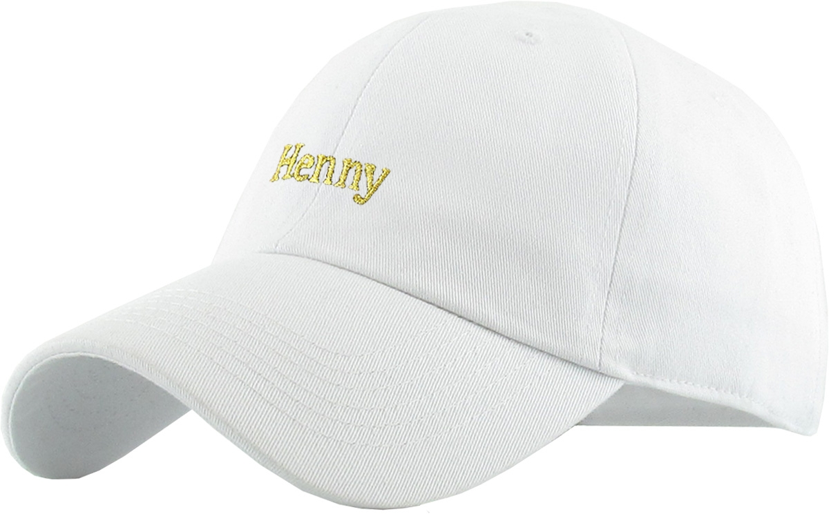 8ccbea81 Henny Dad Hat Red Baseball Cap Polo Style Adjustable - Walmart.com