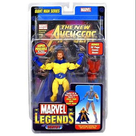 Marvel Giant Man Build A Figure Sentry Action Figure [Bearded - Bearded Dude