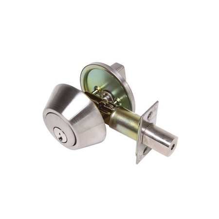 CRP Single Cylinder Deadbolt US26D-ED 500 Satin Chrome