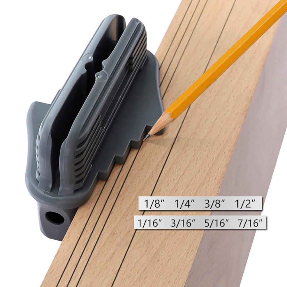 Multi-function Marking Center Finder Scriber Woodworking Marking Gauge Scriber