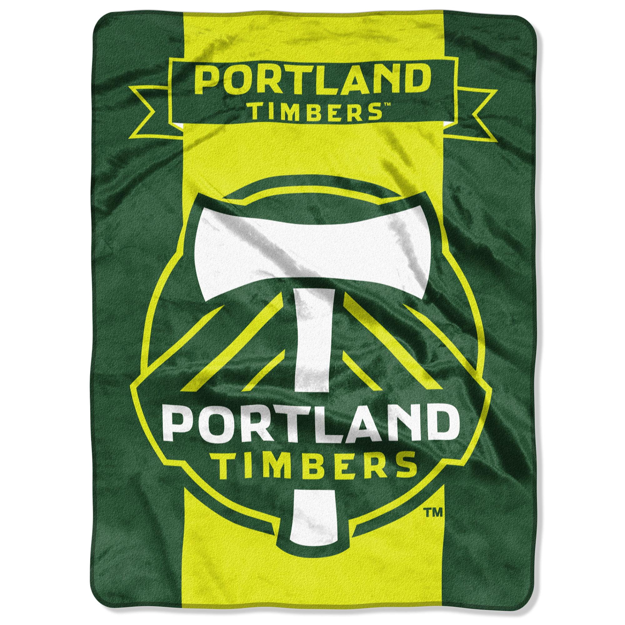 "Portland Timbers The Northwest Company 60"" x 80"" Raschel Throw Blanket - Green - No Size"