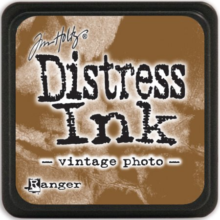 Ranger DMINI-40262 Distress Mini Inks - Vintage Photo