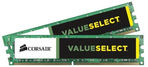 Corsair 2GB (2x1GB) DDR2 533 MHz (PC2 4200) Desktop Memory (VS2GBKIT533D2)