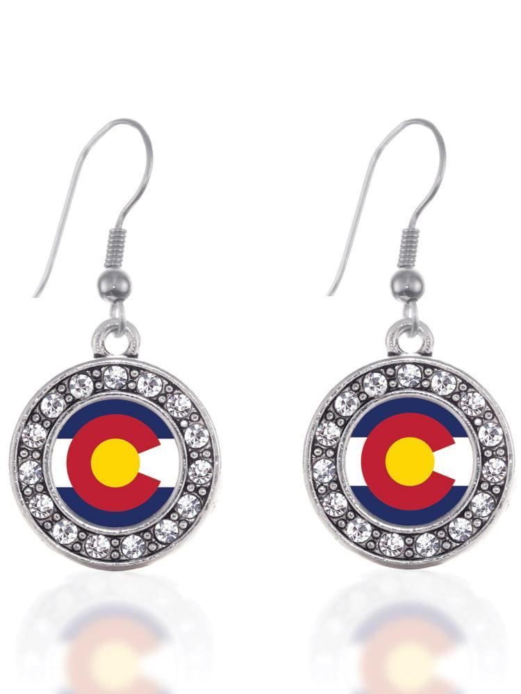 Colorado Flag Cufflinks Personalised Engraved Keepsake Box