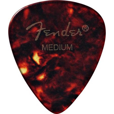 Fender 351 Celluloid Picks - Medium Package of 12