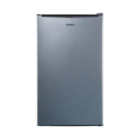 Galanz 3.5 Cu Ft Single Door Mini Fridge GL35S5, Stainless