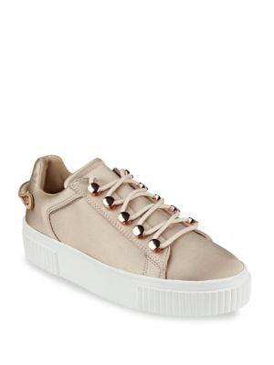 Rae3 Satin Platform Sneakers