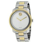 Movado Unisex Bold Large Analog Quartz 43mm Watch 3600377