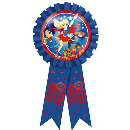 DC Super Hero Girls Guest of Honor Ribbon (1ct)