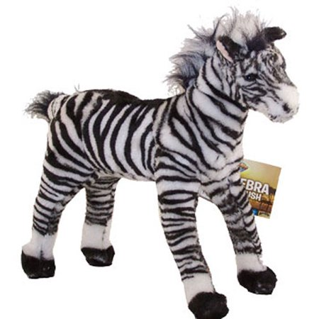 Studded Zebra (Adventure Planet Plush - STANDING ZEBRA ( 16 inch)