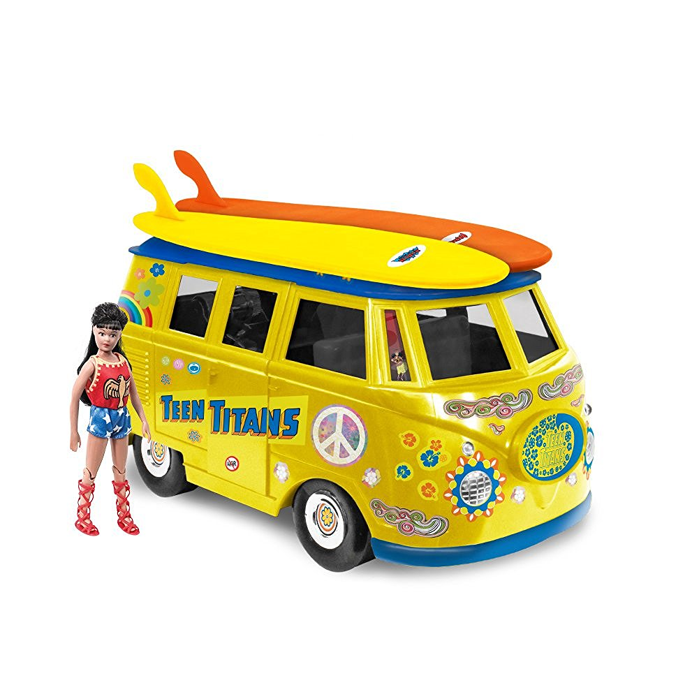 Action Figures DC Comics Teen Titans Van DCPLAYSET06 by Figure Toys Company