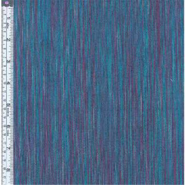 Textile Creations OR-029 Ombre Ridge Fabric, Vertical Stripe Fuchsia And Green, 15 yd.