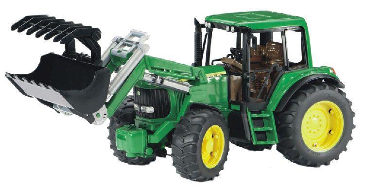 John Deere Tractor 6920 w. front loader by Bruder