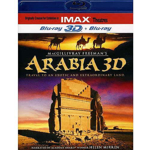 Arabia 3D (IMAX) (Blu-ray) (Widescreen) by Image Entertainment