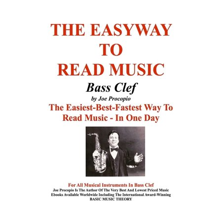 THE EASYWAY TO READ MUSIC Bass Clef - eBook