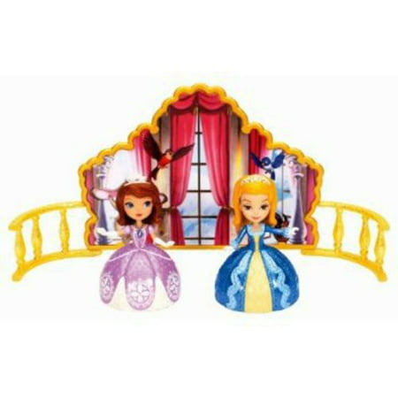 Mattel Disney Sofia The First Dancing Sisters. - Sofia The First Sleeping Beauty