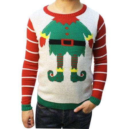 Ugly Christmas Sweater Teen Boy's Funny
