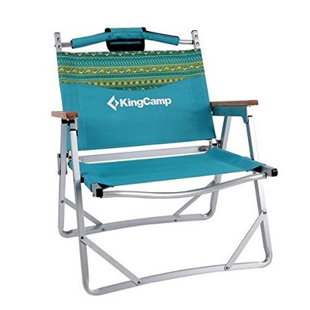 Kingcamp Lightweight Portable Strong Le Folding Beach Chair Carry Bag Included