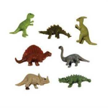 stretchy dinosaurs - tiny stretchy dinosaur toy figures - pack of 50 figures](Tiny Toys)