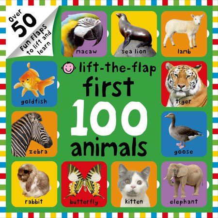 Learn Animal (First 100 Animals Lift-The-Flap: Over 50 Fun Flaps to Lift and Learn (Board Book))