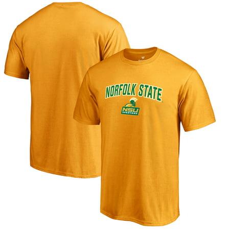 big sale 5b8ef 3c70f Norfolk State Spartans Proud Mascot T-Shirt - Gold -