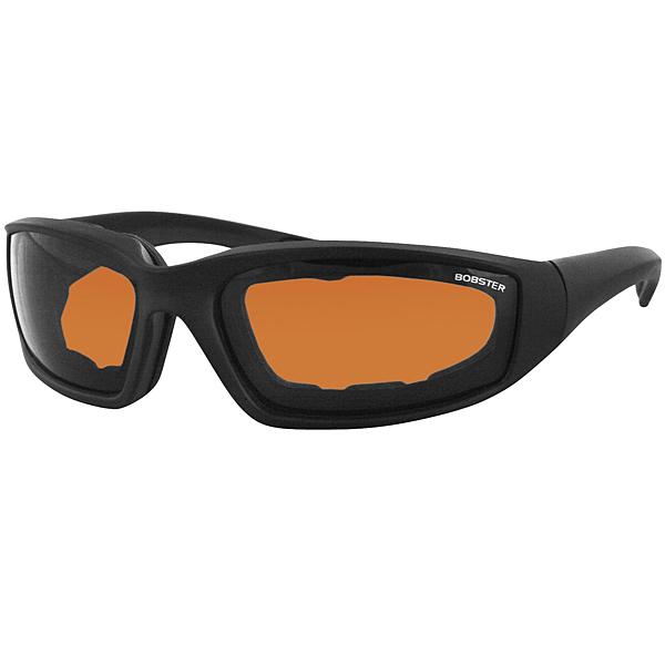 Bobster Foamerz II Sunglasses Black/Amber