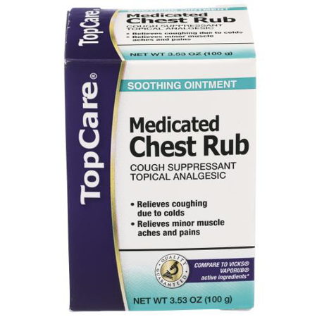Top Care Medicated Chest Rub -