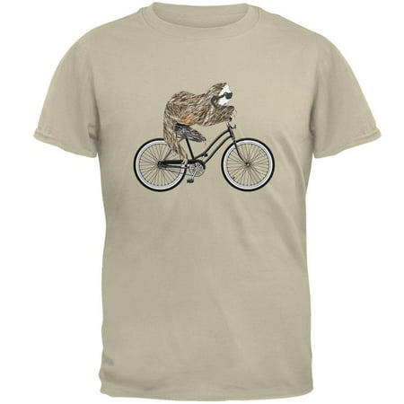 Bicycle Sloth Mens T Shirt (Sloth Superman Shirt)