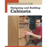 New Best of Fine Woodworking: Designing and Building Cabinets (Paperback)