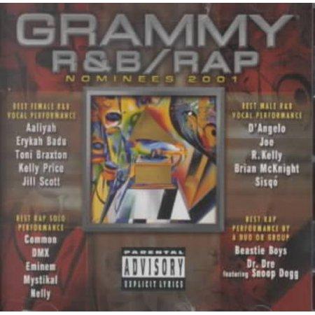 Various Artists Grammy R&B/Rap Nominees 2001 [PA] CD