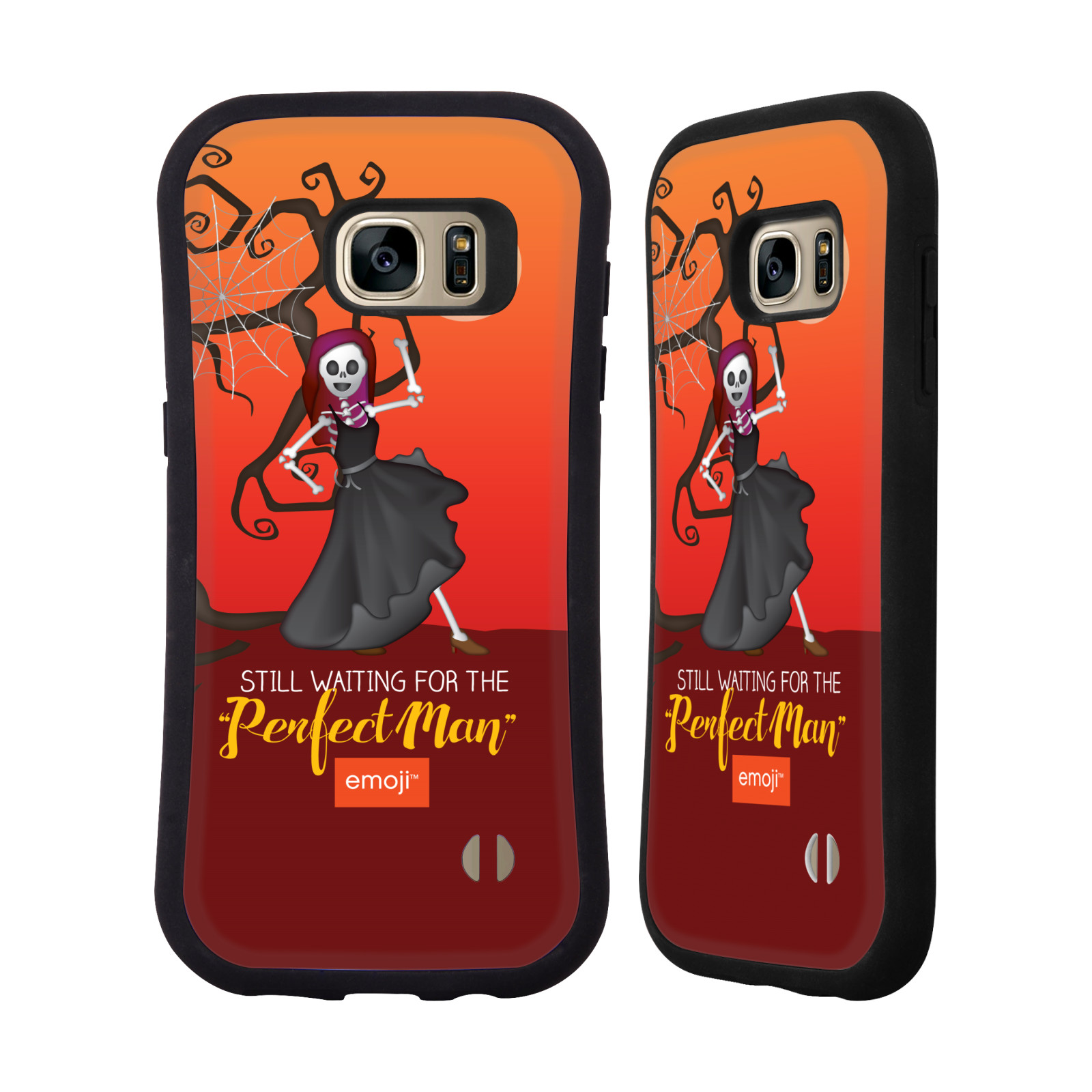 OFFICIAL EMOJI HALLOWEEN PARODIES HYBRID CASE FOR SAMSUNG PHONES